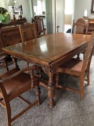 1920 dining room set i have a dining room set i think is from the 1920 s or 1930 s it is