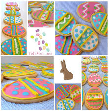 decorated cookies easter cookies with royal icing tidymom