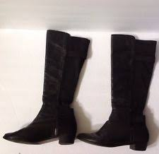 s boots size 11 cole haan dutchess otk boots tumbled leather fabric size 11 m
