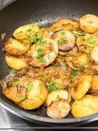 la cuisine lyonnaise potatoes lyonnaise the pudge factor