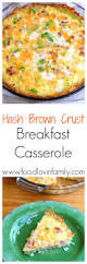 crockpot overnight breakfast casserole recipe casserole