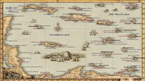 World Map Caribbean by Guide Sea Dogs To Each His Own Worldmap Improvisation