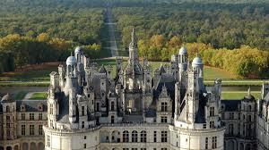 architecture chambord castle