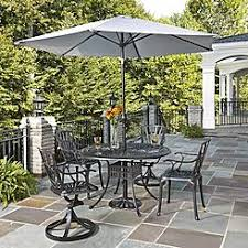 Patio Dining Set With Umbrella Patio Dining Sets Outdoor Dining Chairs Sears