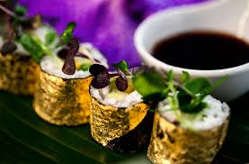 Where To Buy Edible Gold Leaf Amazingly Beautiful Ways To Make Your Food Shine Now Beautifulnow