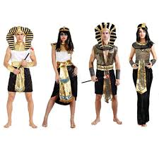 Egyptian Pharaoh Halloween Costume Compare Prices King Queen Halloween Costumes Shopping