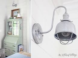 Galvanized Barn Light Fixtures Galvanized Lights For The Dining Room Barn Light Electric The