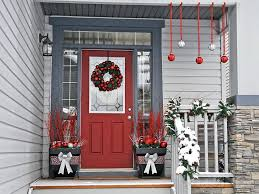 Christmas Window And Door Decorations by Decoration For New Year And Christmas
