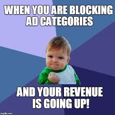 Meme Categories - how adsense category blocking can be helpful to earn more