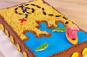 cuisine notrefamille gâteau d anniversaire pirate carte aux trésors
