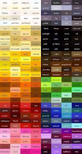 color names tips u0026 tricks pinterest writing inspiration