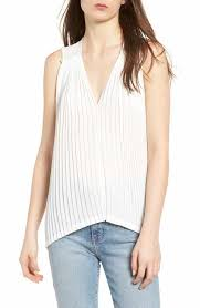 blouses with bows at neck s v neck tops tees nordstrom