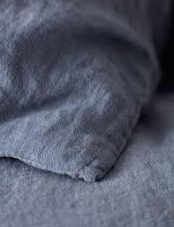 blue french linen duvet cover secret linen store