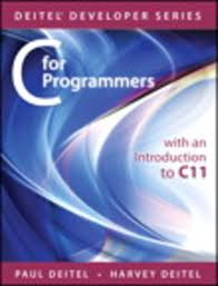 c for programmers with an introduction to c11 ebook by paul deitel
