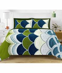 Buy Double Bed Sheets Online India Vintana Double Cotton Multi Printed Bed Sheet Buy Vintana Double