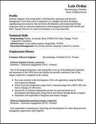 Sample Resume For Experienced Software Engineer by Resume For Job Examples And Samples Mr Sample Resume New Sample