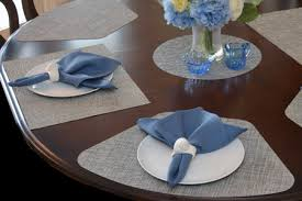 outdoor placemats for round table round table wedge placemats by sweet pea linens usa made