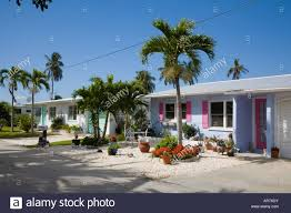 colorful houses in matlacha florida on the southwestern gulf coast