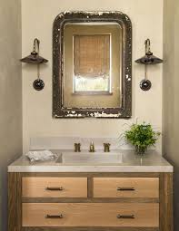 French Powder Room Refined Earthy Escape Serene Stone And Glass Vacation Home In