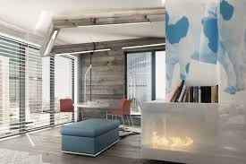 Blue And Brown Living Room by Blue And Brown Living Room Interior Design Combination Blue And