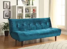 sofa beds transitional velvet sofa bed teal coa 500098 1 ba