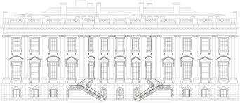 blueprint houses white house blueprint free blueprint for 3d modeling