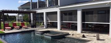 Motorized Screens For Patios Orlando Pool U0026 Patio By Design