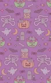 pusheen halloween on weheartit allh ll0ws v pinterest