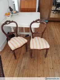 siege baroque 2 chaises rétro classiques baroque siège vintage luxe sofa a