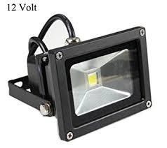 glw 10w 12v ac or dc warm white led flood light