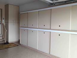 The Images Collection Of Garage Garage Cabinets With Sliding Doors