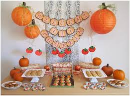 decorating ideas for baby shower centerpieces fall decoration