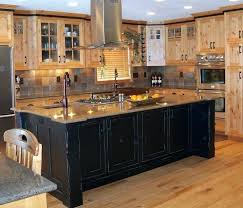 How To Clean Wood Kitchen by Plain Wood Kitchen Cabinets Wooden Ideas How To Clean Black Stain