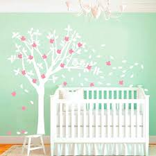 White Tree Wall Decal For Nursery Tree Wall Decals For Bedroom Living Room Wall Decals Bedroom Wall