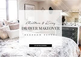 Makeover Bedroom - milton u0026 king drawer makeover bedroom reveal oh everything
