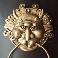 the labyrinth right door knocker
