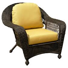 Cushion For Patio Furniture by Furniture Appealing Dark Wicker Chair Cushions For Elegant Patio