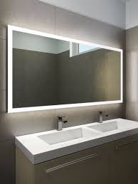 halo wide led light bathroom mirror 1419h illuminated bathroom