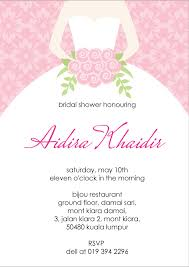 sample bridal shower invitation cloveranddot com