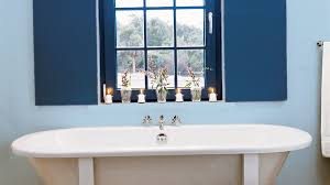 Yarmouth Blue Bathroom Blue And White Beach House Decorating Coastal Living
