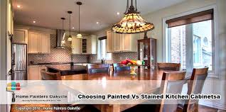 Kitchen Cabinet Mississauga Choosing Painted Vs Stained Kitchen Cabinets In Oakville U0026 Mississauga