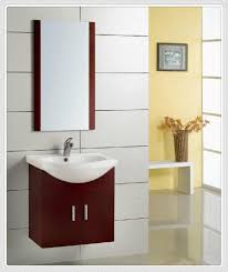 Sinks And Vanities For Small Bathrooms Bathroom Cool Bathroom Decoration Using Single Oak Wood Small