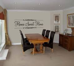 radiant home sweet home quote wall art decal vinyl sticker wall