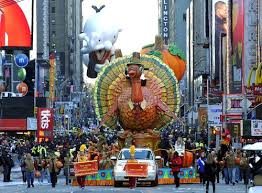 thanksgiving day parades on november