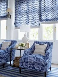 Printed Fabric Roman Shades - top down bottom up plain classic pleated roman shades in