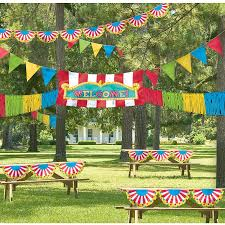 amazon com super fun outdoor carnival giant decorating kit