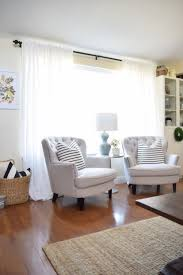 Ikea White Curtains Inspiration Awesome All About Our Family Room And Dining Curtains Ikea Vivan