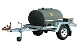 dieselcadet 1000 litres trailer with 45l min pump and lights