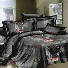 King Size Duvet Cover Sets Sale 3d Printed Bedding Set Bedclothes Black Tiger Queen King Size