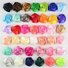 60 best flat diy images 1 5 inch diy mini handmade silk rosebuds baby hair accessories